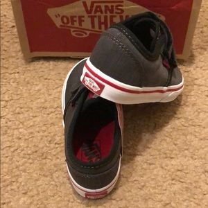Vans Shoes Velcro Textile Poshmark Aexh1q Atwood TO7qEx